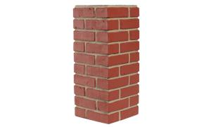 Red Brick Gray Grout