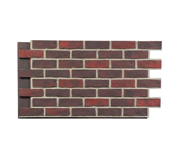 rustic brick faux wall panels