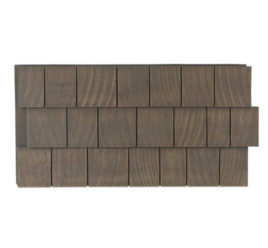 Cedar Shake Faux Wall Panels