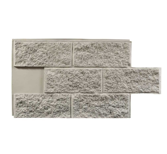 Stone Face Block : Split face block faux wall panels stone