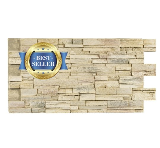 Stacked Stone Dry Stack Select Faux Wall Panels