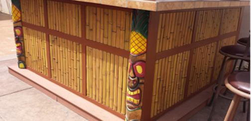 Make Your Own Backyard Tiki Hut Texture Plus
