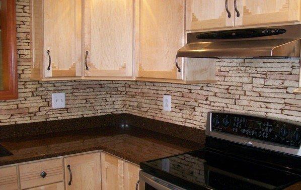 Diy Faux Brick Backsplash Texture Plus