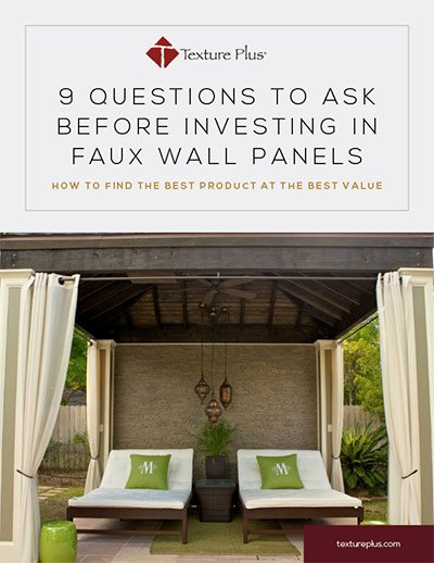 9 Questions to ask before investing in faux wall panels